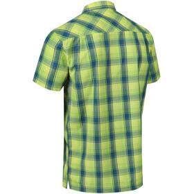 Regatta Kalambo IV Bluzka z krótkim rękawem Mężczyźni, lime punch